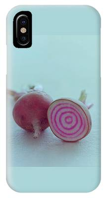 Two Chioggia Beets IPhone Case