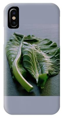 Two Collard Leaves IPhone Case
