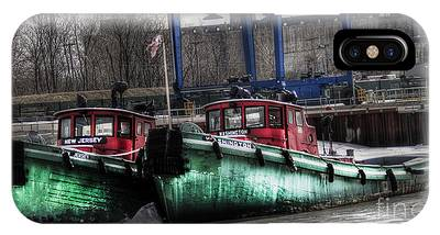 Two Tugs IPhone Case