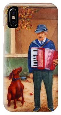 Uncle Ioan And Rocky In Romania IPhone Case