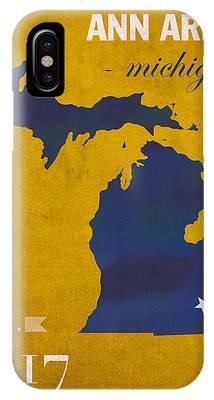 University Of Michigan IPhone Cases