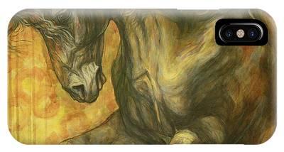 Black Horse Phone Cases