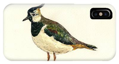 Lapwing IPhone Cases