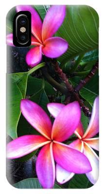 Vibrant Plumeria IPhone Case