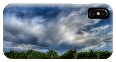 Vineyard Storm IPhone Case