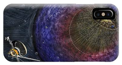 Interstellar Space Phone Cases