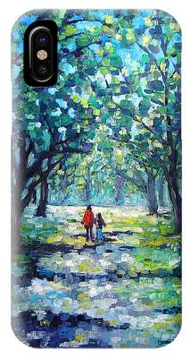 Walking In The Park IPhone Case