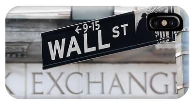 Wall Street New York Stock Exchange IPhone Case