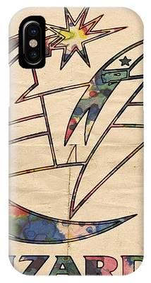 Washington Wizards Poster Art IPhone Case by Florian Rodarte