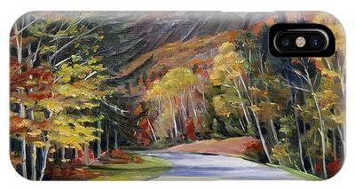 Waterville Road New Hampshire IPhone Case