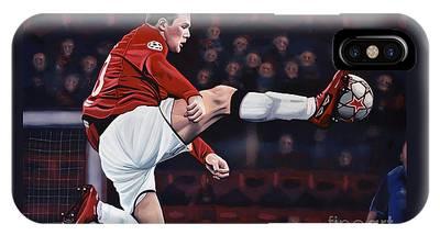 Wayne Rooney iPhone Cases