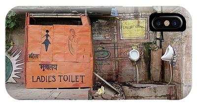 Toilet Photographs iPhone Cases