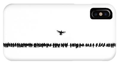 Starlings iPhone Cases