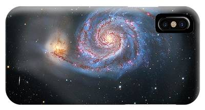 Interacting Galaxies Phone Cases