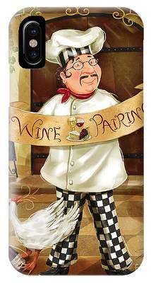 Wine Pairing Chef IPhone Case