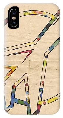 Winnipeg Jets Retro Logo IPhone Case by Florian Rodarte