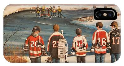 Ice Hockey Phone Cases