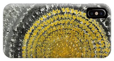Winter Sun Original Painting IPhone Case