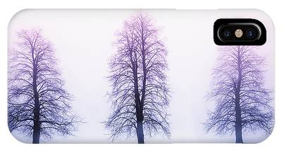 Pink Tree Phone Cases