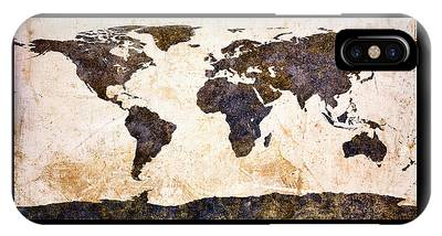 Continent iPhone Cases