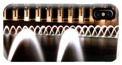 World War II Memorial At Night IPhone Case