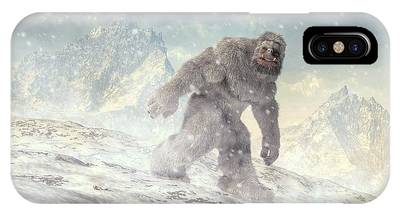 Abominable Snowman Phone Cases