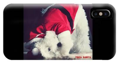 Maltese Dog Christmas Cards Phone Cases