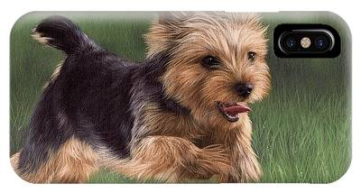 Yorkshire Terrier IPhone X Cases