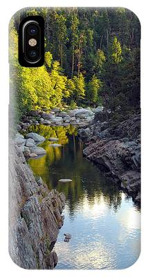 Yuba River Twilight IPhone Case