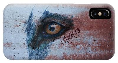 Zombie Wolf Eye IPhone Case