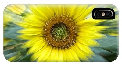 Zoom Sunflower IPhone Case