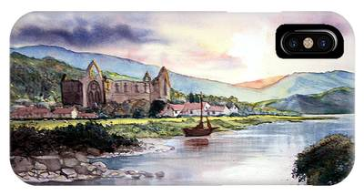 Late Evening At Tintern Abbey IPhone Case