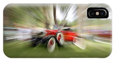 Red Antique Car IPhone Case