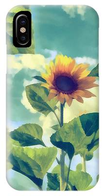 IPhone Case featuring the photograph Sunflower by Michael Goyberg