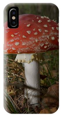 IPhone Case featuring the photograph Amanita Muscaria by Michael Goyberg