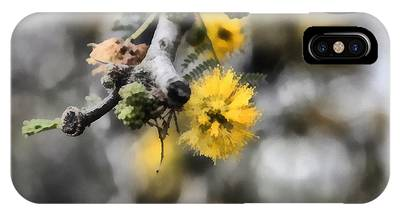 IPhone Case featuring the photograph Blossoming Tree by Michael Goyberg