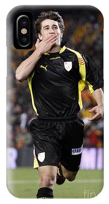 Bojan Krkic Celebrating A Goal 2 IPhone Case
