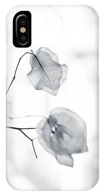 IPhone Case featuring the photograph Bougainvillea - High-key Lighting by Michael Goyberg