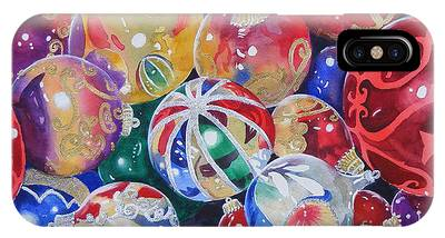 Colors Of Christmas ...sold  IPhone Case