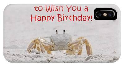 Crab Happy Birthday IPhone Case