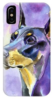 Doberman Pinscher Phone Cases