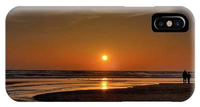 Enjoying The Sunset IPhone Case