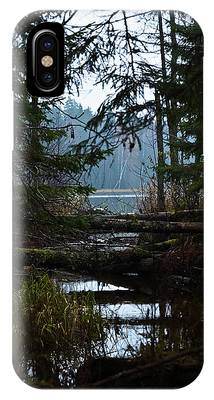 IPhone Case featuring the photograph Forest Lake by Michael Goyberg