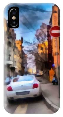 IPhone Case featuring the photograph Moscow's Streets by Michael Goyberg