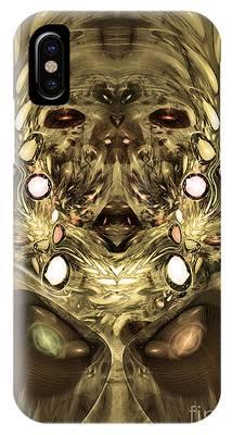 Mummy - Abstract Digital Art IPhone Case