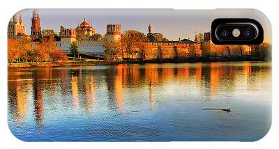 IPhone Case featuring the photograph Novodevichy Convent by Michael Goyberg