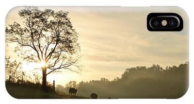 Pasture Sunrise IPhone Case