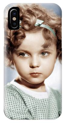 Shirley Temple IPhone Cases
