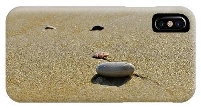 IPhone Case featuring the photograph Stones In The Sand by Michael Goyberg