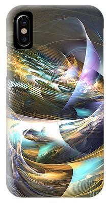 Storm's Ear - Fractal Art IPhone Case